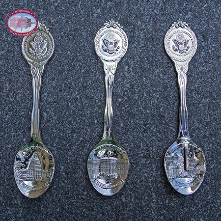 Silver Souvenir Spoon Washington DC