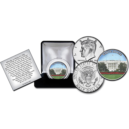 Gifts - Money - White House Commerative Coin