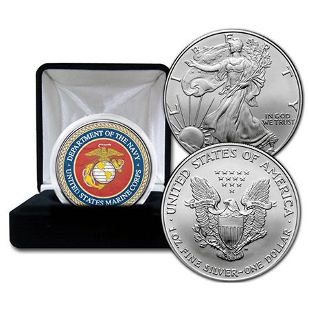 Gifts - Money - Marines Commerative Coin