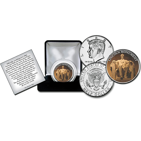 Gifts - Money - Lincoln Memorial Commerative Coin