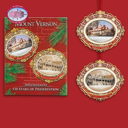 2010 Mount Vernon Annual Christmas Ornament