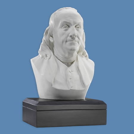 Gifts - Busts - Benjamin Franklin - Marble