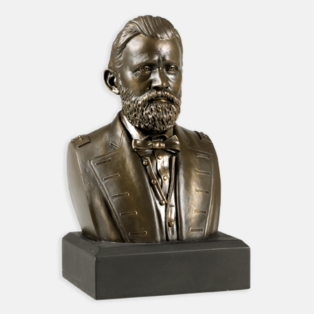Gifts - Busts - Ulysses S. Grant  - Bronze