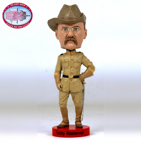 Gifts - Theodore Roosevelt Bobblehead