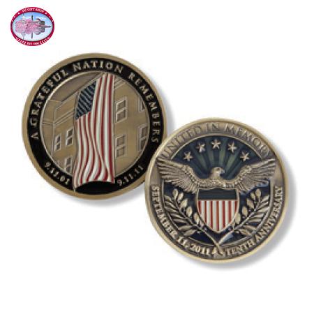 10th Anniversary United in Memory Bronze Coin
