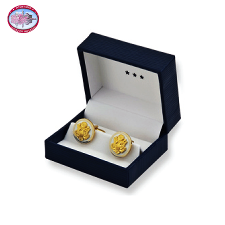 The Great Seal Cufflinks - White