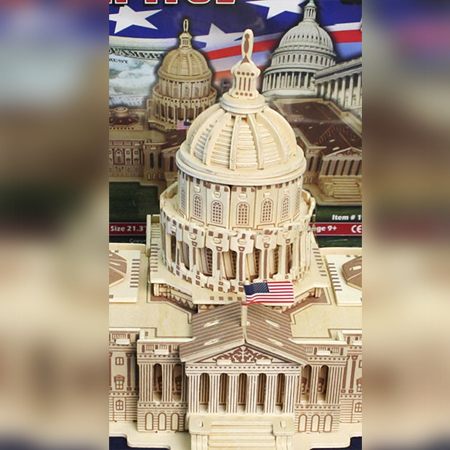 Gifts - Toys - U.S. Capitol 3D Puzzle