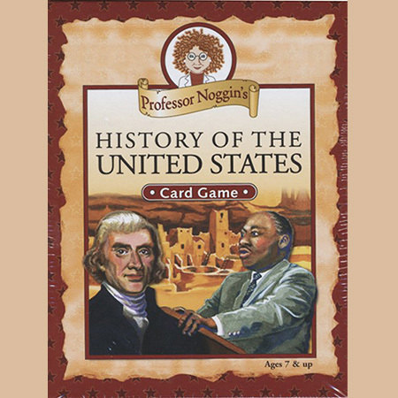 Gifts - Toys - Professsor Noggin's History of the United States Game