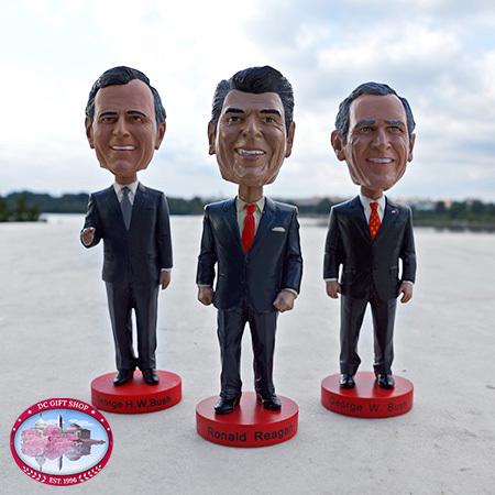 Gifts - Reagan Bush Legacy Bobblehead Set