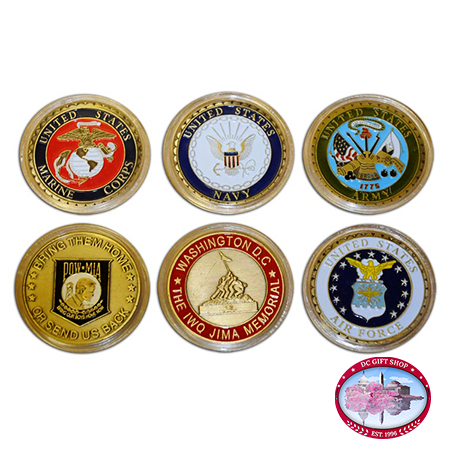 Gifts - Money - United States Armed Forces Commemorative Set