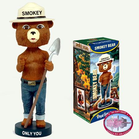 Gifts - Toys -Smokey Bear BobbleHead