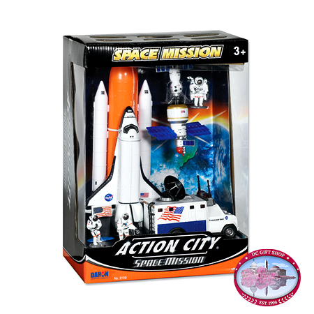 Gifts - Toys - Space Shuttle 7 Piece Playset