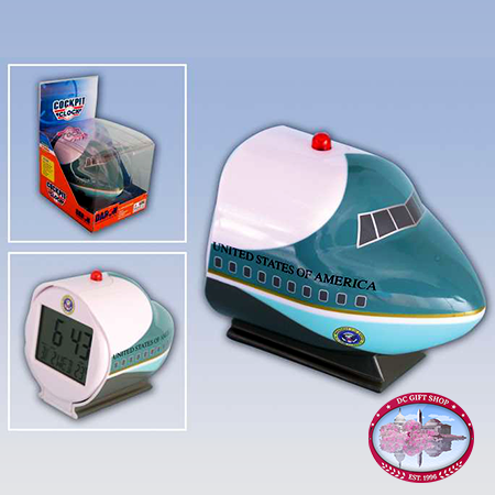 Gifts - Toys - Air Force One Cockpit Clock