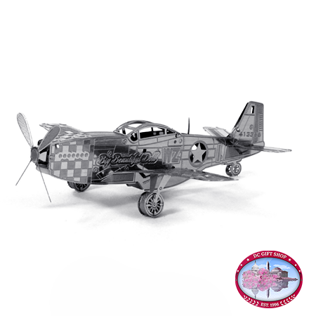 Gifts - Toys - The P-51 Mustang 3D Laser Cut Model