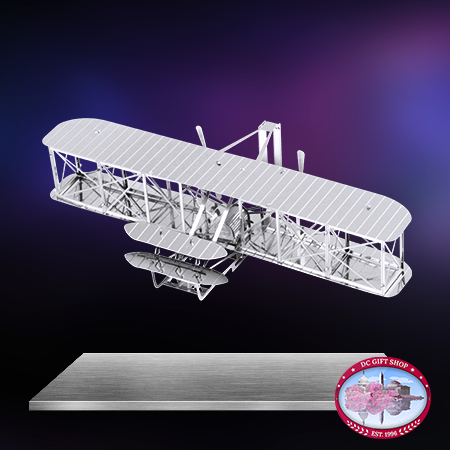 Gifts - Toys - Wright Brothers Airplane 3D Laser Cut Model