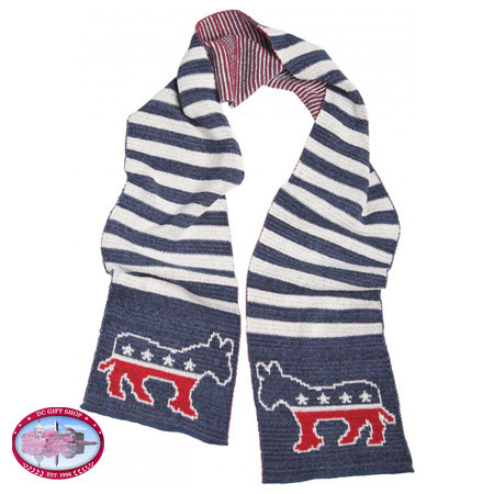 The Official Democrat Scarf