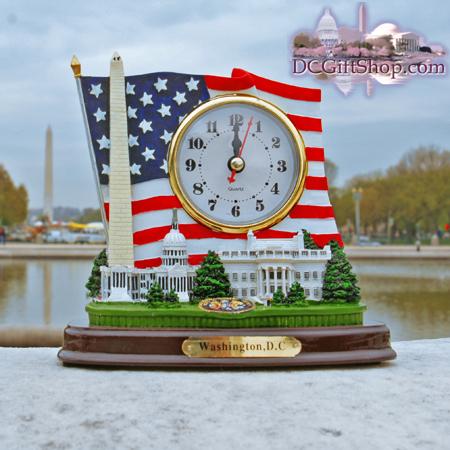 Gifts - Clock - Washington DC Monuments
