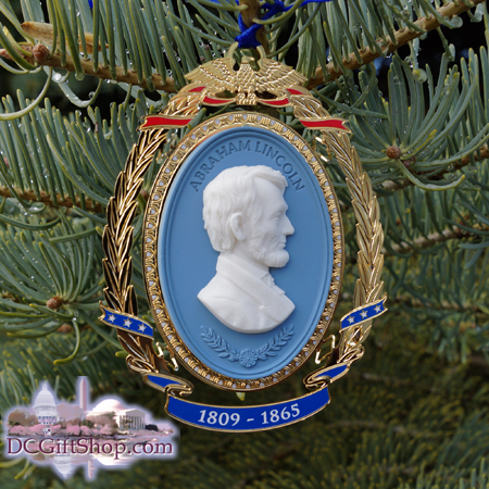 Ornaments - Abraham Lincoln Cameo