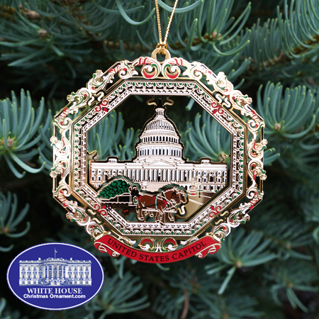 Ornaments - 2013 Capitol Horse Drawn Carriage