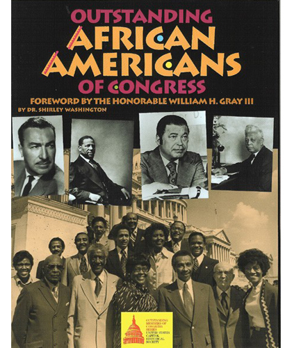 Gifts - Books - Outstanding Africian Americans of Congress