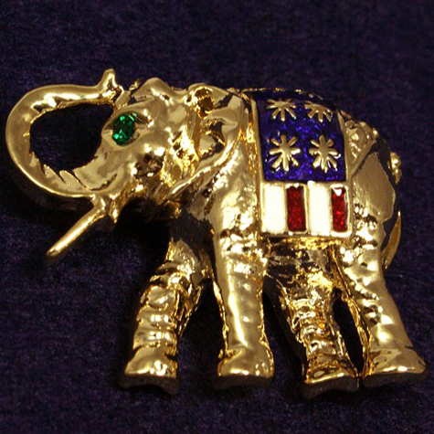 Gifts - Pin - Republican Gold