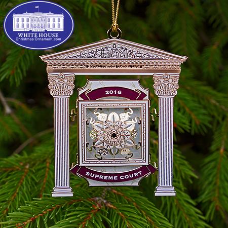 2016 United States Supreme Court Ornament