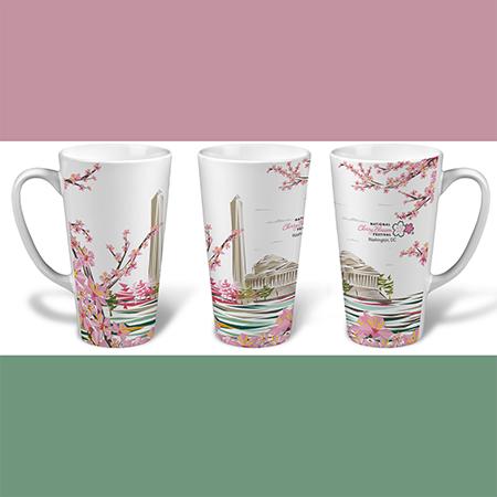 2017 National Cherry Blossom Festival Latte Mug