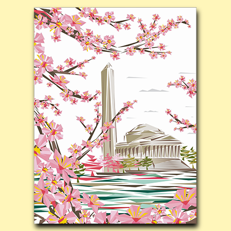 2017 Official National Cherry Blossom Poster