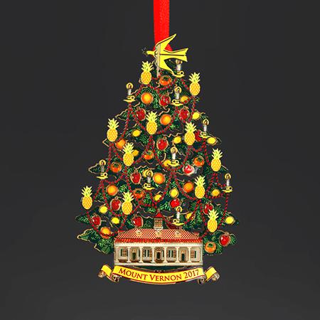2017 Mount Vernon Christmas Ornament