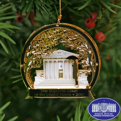 Ornaments - Supreme Court 2011 Winter Scene