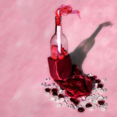 Valentines Day - Sweetest Day Message In A Bottle