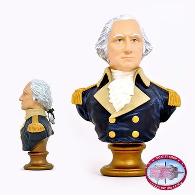 Gifts - Busts - George Washington Bobblehead Bust