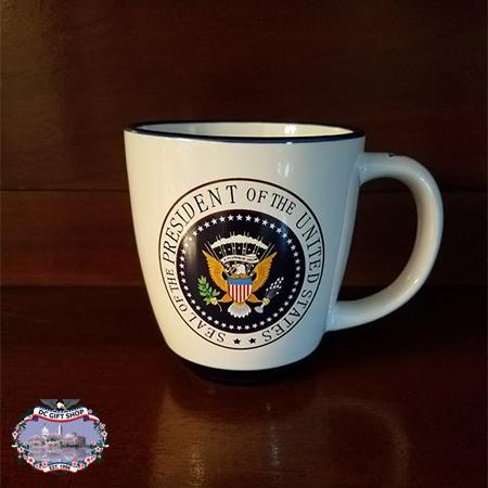 Seal of President of United States Latte Mug