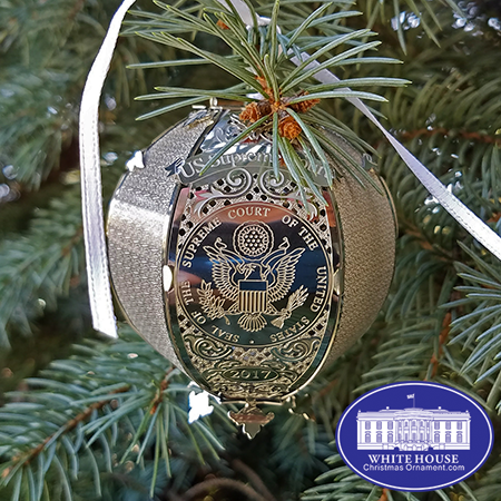 2017 United States Supreme Court Holiday Ornament