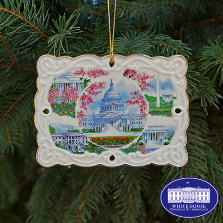Greetings from Washington DC Ornament
