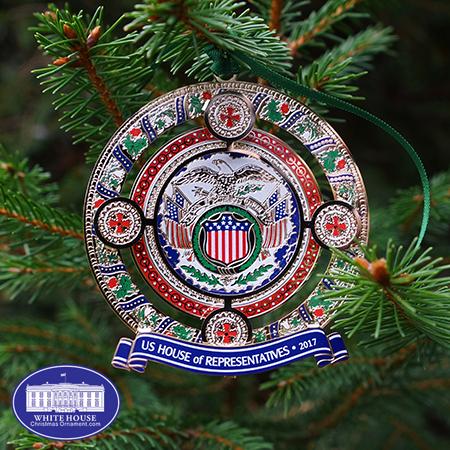 2017 US House of Representatives Christmas Ornament