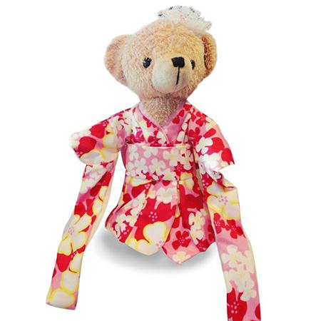 National Cherry Blossom Kimono Teddy Bear