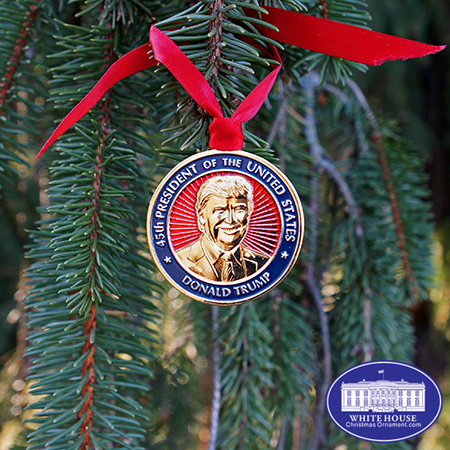 Donald Trump Inauguration Christmas Medallion