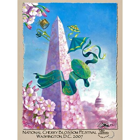 2007 National Cherry Blossom Festival Poster