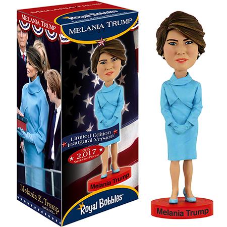 First Lady Melania Trump Limited Inaugural Edition Bobble Head