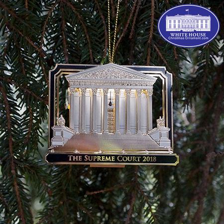 2018 US Supreme Court LED Ornament