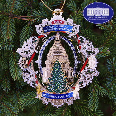 2018 US House of Representatives Holiday Ornament