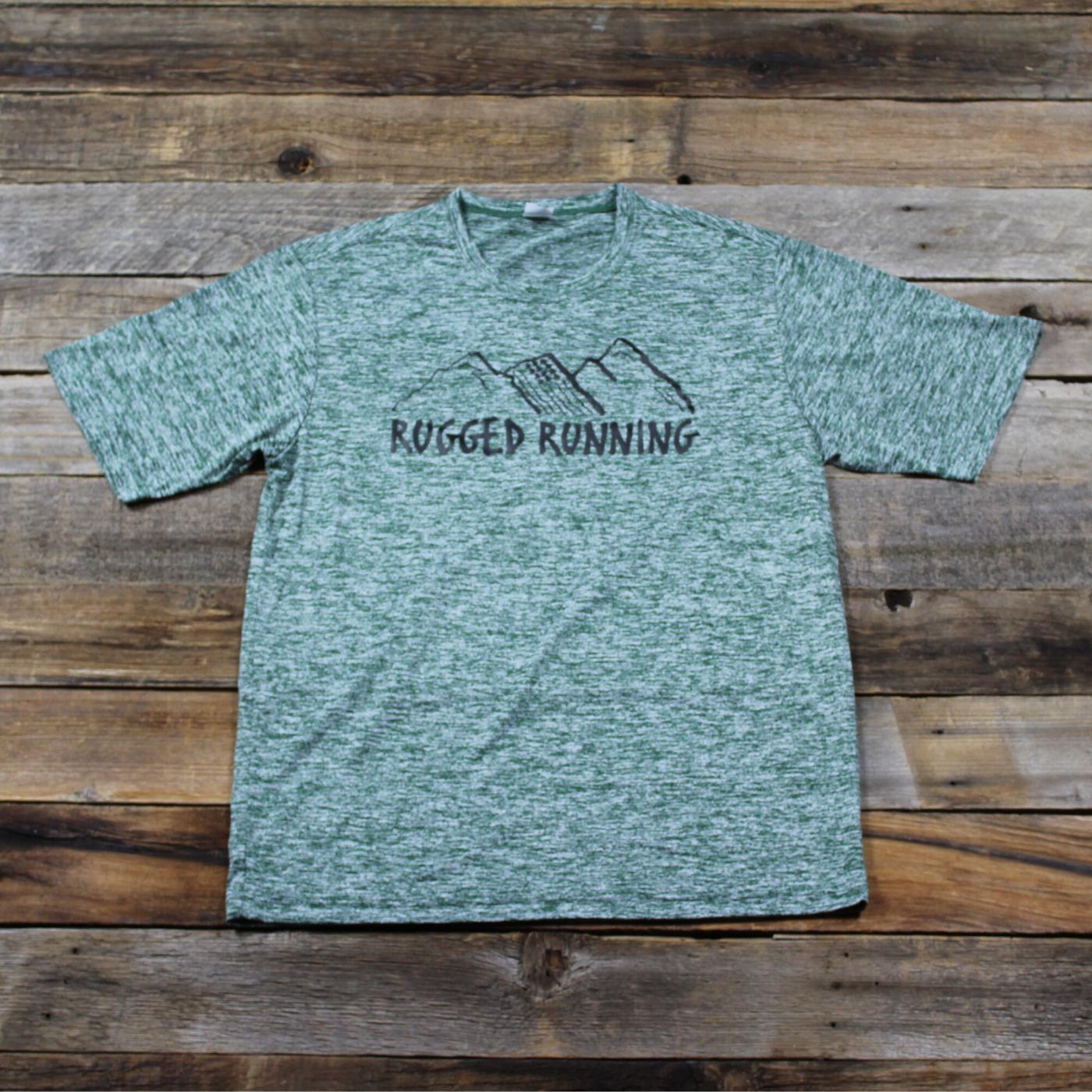 Men's Performance T-Shirt (Green)
