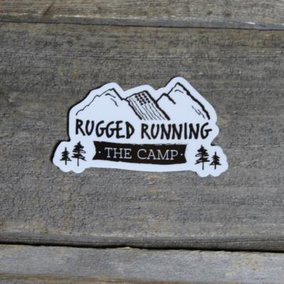 Rugged Running THE CAMP Sticker