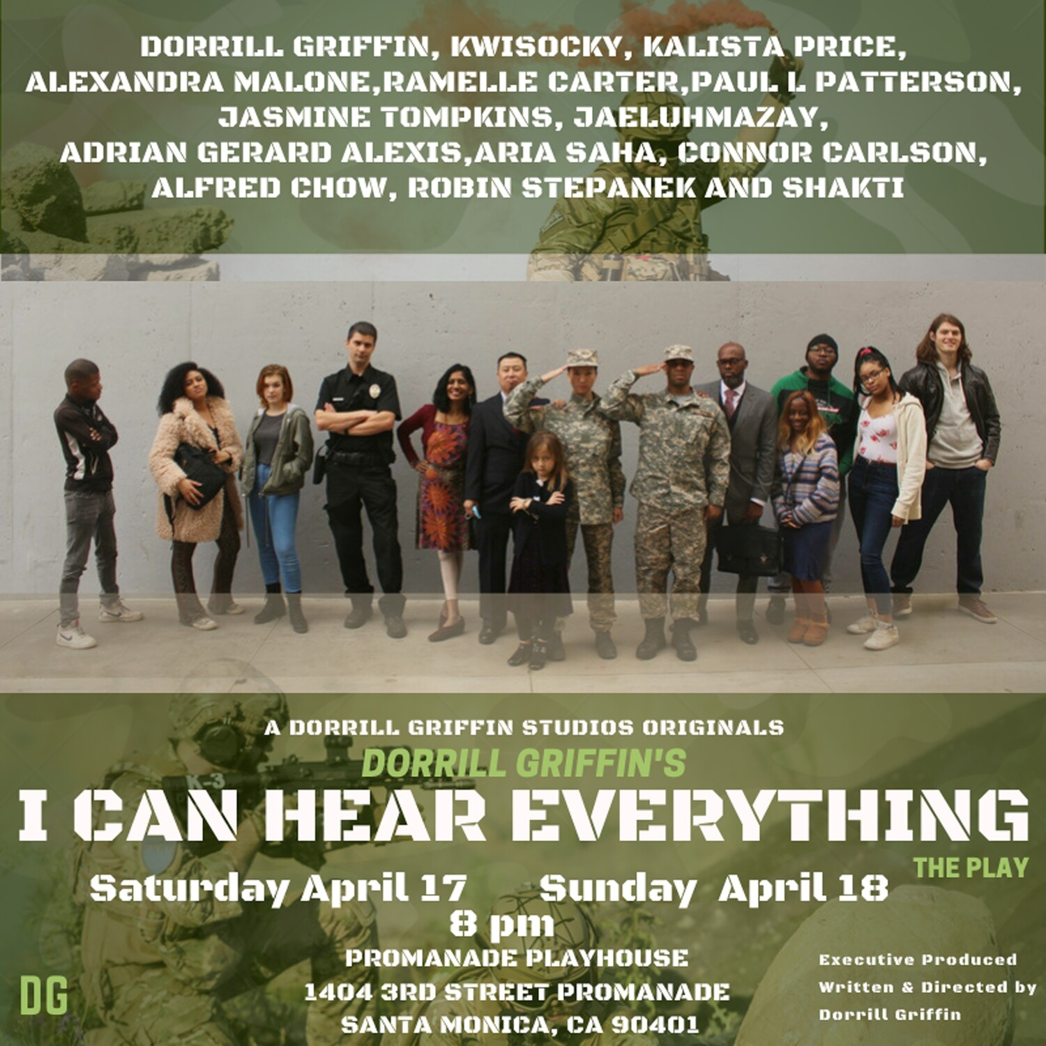 I CAN HEAR EVERYTHING APRIL 18TH 4PM