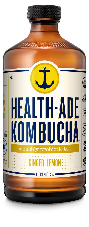 Health-Ade Kombucha - Ginger-Lemon