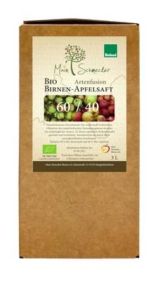 60/40 Birnen-Apfelsaft in der 3 Liter Box (Bioland)
