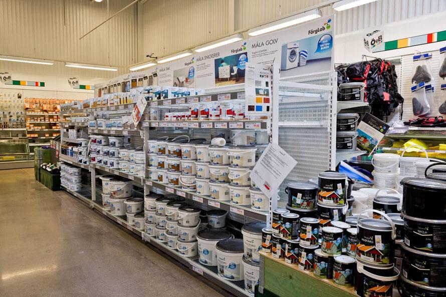 Alle typer butikkinnredning - Ta kontakt for løsning og tilbud