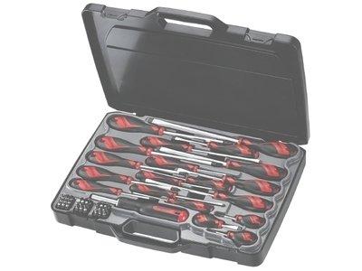 Skrutrekker-og bits-sett fra Teng Tools - MD9053N