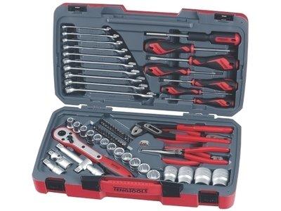 Pipenøkkelsett av høy kvalitet fra Teng Tools - T1268